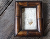 """Unique Design Rustic Bamboo Wooden Photo Frame size 4x6"""""""
