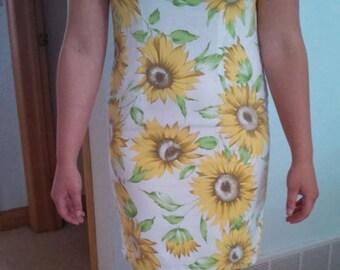 Summer markdown~Sunflower shift dresss