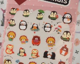 Cute Animals Stickers - LD. 1126