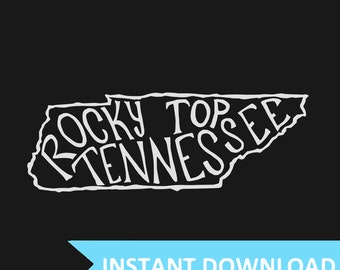 INSTANT DOWNLOAD - Rocky Top Tennessee - 8x10 Illustrated Print by Mandy England