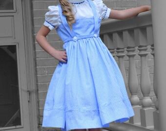 Dorthy Wizard of Oz Costume Dress, Girls'