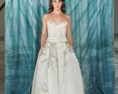 Clara - Silk Wedding Skirt, Wedding dress Bridal Ballgown, Removable Silk Ballgown, Ballgown Skirt, flirty bridal skirt, faldas de tul