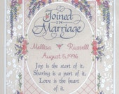 JOINED IN MARRIAGE Ribbon Embroidery Kit