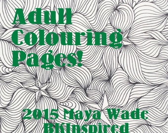 Star Zendoodle Coloring Page Pdf