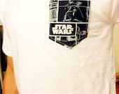 Men's Dark Star Wars Pocket T-Shirt