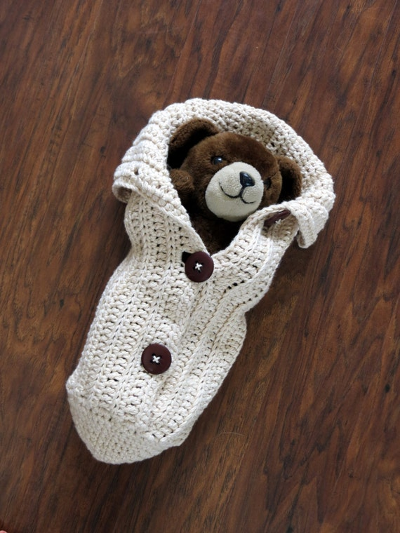 Button Up Baby Cocoon Crochet Pattern : Crochet Cocoon Pattern Photo Prop EASY CROCHET PATTERN