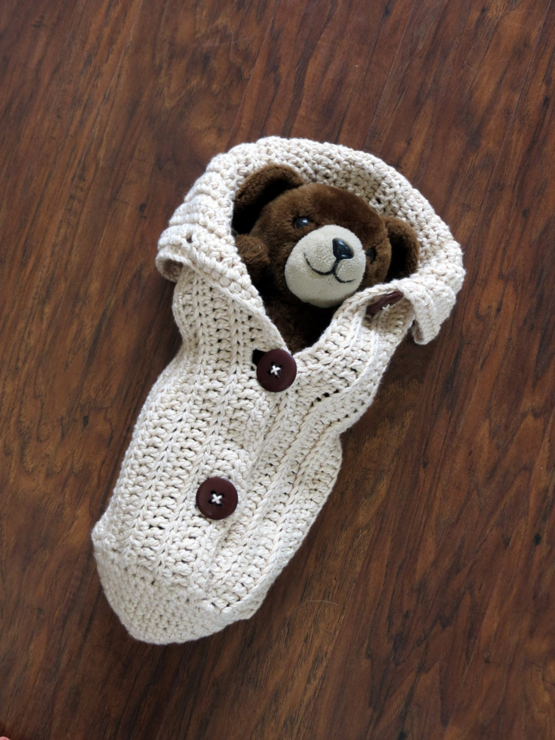 Crochet Cocoon Pattern Photo Prop EASY CROCHET PATTERN