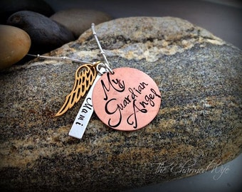 Guardian Angel Personalized Necklace