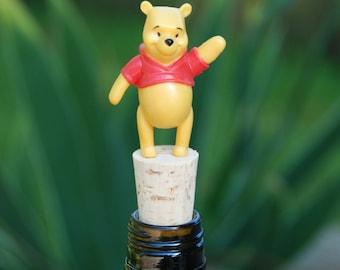 Winnie the Pooh Wine Bottle Stopper