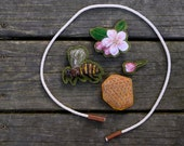 "Handmade Montessori Work. ""For the Bees."" Nature Table Threader Garland by Aly Parrott on Etsy"