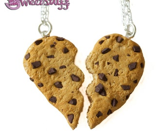 Friendship cookie necklace
