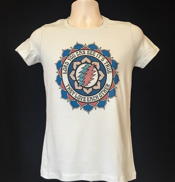They Love Each Other: They Love Each Other New Mandala Grateful Dead T By MongoArts