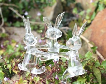 Dancing Hares. Circle of glass dancing Hares. folk lore. Myth and magic