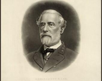 Images of America: The Civil War - General Robert E. Lee - Fine Art Print Reproduction