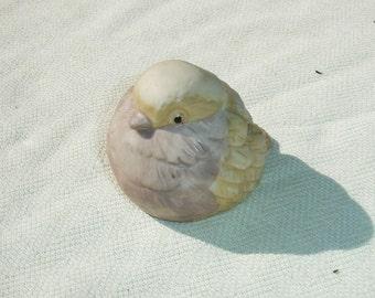 Lovely Vintage Sitting ROC Bird Figurine