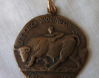 1937 Medal Live Stock Judging Contest International, Live Stock Exposition