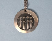 Large Vintage Roland Landerholm Brotherhood Necklace for Rune Tennesmed of Sweden