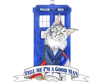 Doctor Mew: Doctor Who the 12th Doctor Cat