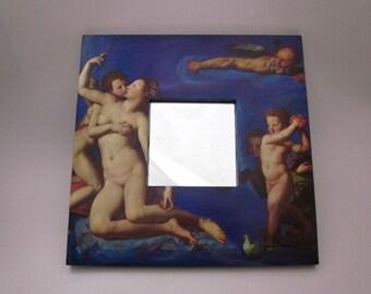 CUPID IN LOVE usable art mirror, venus