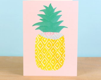 Pineapple Greetings Card