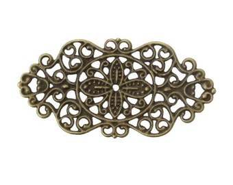 6 Filigree Metal Corner Embellishments for Scrapbooking,Card Making,Home Decor,Mini Albums,Journals,Craft Projects,Altered Art
