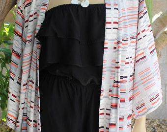 how to cut a kimono jacket