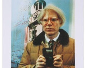 Sello - Portrait of Andy Warhol (1982) Offset Lithograph sku XX7775
