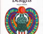 Design Source Book - Egyptian Designs by Polly Pinder - Art - Embroidery - Textiles - Ceramics - Needlecraft - Photocopiable Patterns