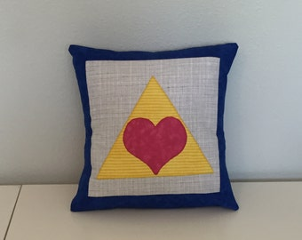 """Phi Sigma Sigma Blue and Gold LITP Sorority Accent Pillow Cushion Includes 12""""x12"""" Pillow Insert"""