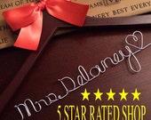 HUGE SALE rustic wedding , personalized wedding hanger , vintage inspired wedding,Custom  bridal hanger
