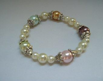 Plentiful Pearls Beaded Bracelet