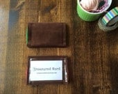 Card Holder for Scripture Memory Verses - Corduroy
