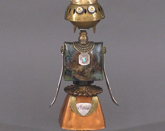 ROBOT SCULPTURE - Metal art robot Metal art sculpture - Cleo