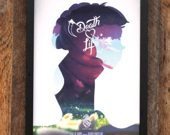 Death Loves Life Poster - Death's Profile