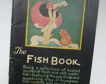 1922-The Fish Book-Art Deco -Womans World Magazine