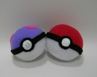 Hand-made Master Pokeball Catnip Filled Cat Toy