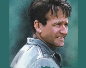 Robin Williams Limited Edition Print