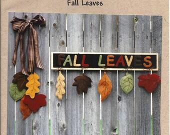 FALL LEAVES Door/Wall Hangings Pattern