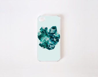 iPhone 4/4s Case - Dioptase iPhone Case - iPhone 4s case - iPhone 4 case - Hard Plastic or Rubber