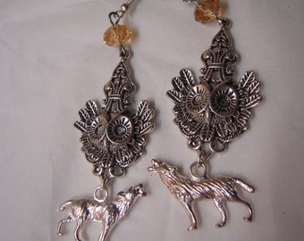 Wild life earrings