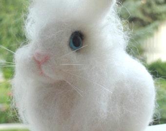 YOUR RABBIT - Easter Rabbit - Custom Pet Rabbit - Easter - 3D Pet Replica - Pet Memorial - Needle Felted Rabbit - Made To Order