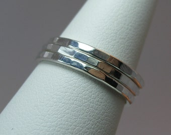 Stacking Sterling Silver Rings