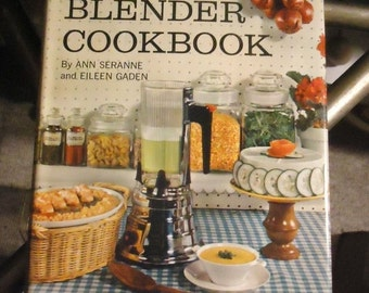 The Blender Cookbook 1961 Vintage Collectible Kitchen Book Recipes Mid Century Kitchen Collectibles Reading Recipes