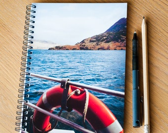 A5 Notebook - Travel Journal - Spiral-bound - Ullswater, Lake District - Photo Stationery