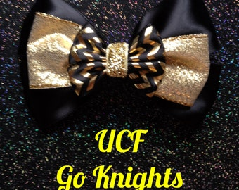 UCF Knights inspired bow