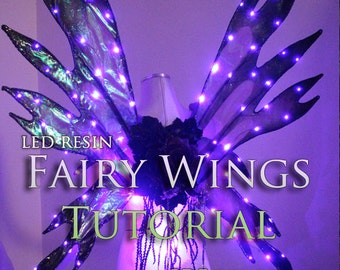 Light Up Fairy Wing Tutorial