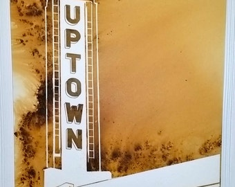Uptown, Minneapolis, MN 16 by 20 inches