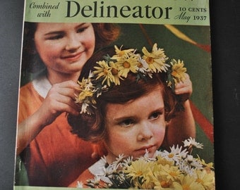 1937 Pictorial Review Delineator Magazine