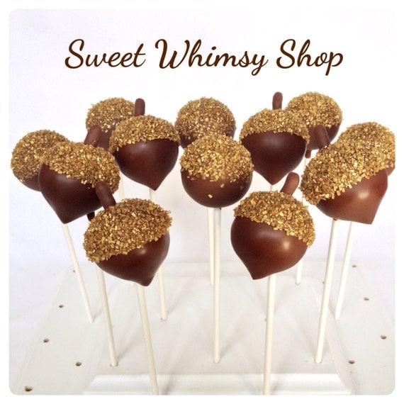 Woodland cake pops mushrooms hedgehogs baby shower sweet ... |Woodland Cake Balls