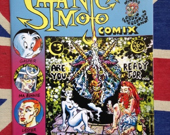 Satanic Mojo Comix #3 underground comic by Jason Atomic and various artists